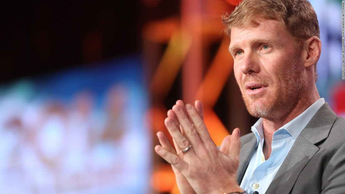 Former U.S. national team player Alexi Lalas was among the speakers at the convention.