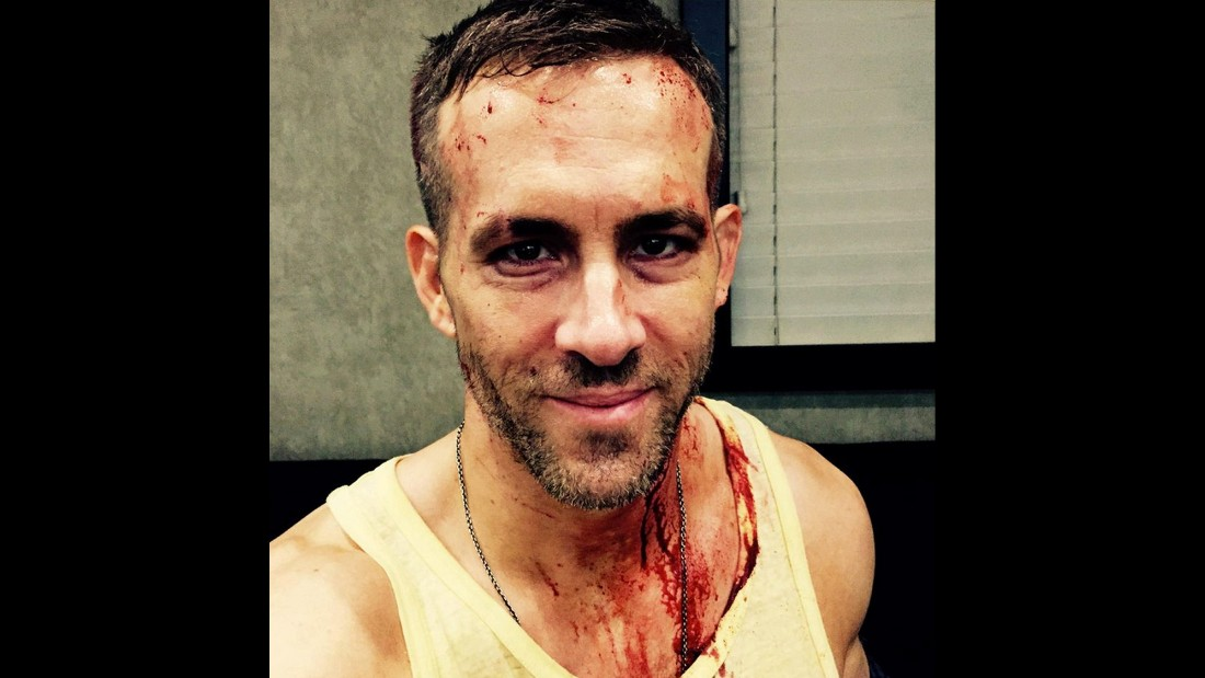 """Officially halfway through production on #deadpool and I feel fine. The other guys? Notsomuch,"" actor Ryan Reynolds <a href=""https://twitter.com/VancityReynolds/status/591900470790135808"" target=""_blank"">tweeted</a> on Saturday, April 25."