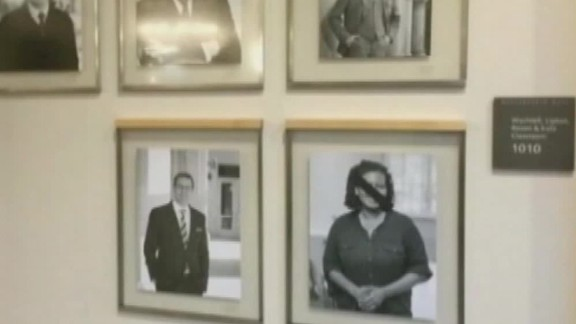"""Harvard University police said they were<a href=""""http://www.cnn.com/2015/11/19/us/harvard-law-school-portraits-defaced/index.html""""> investigating a possible hate crime</a> at the law school after someone covered portraits of black faculty members in tape, according to university officials. Some photographs were defaced with strips of black tape and discovered on November 19. Take a look at other events that brought discussions of race relations and identity to the forefront in 2015."""