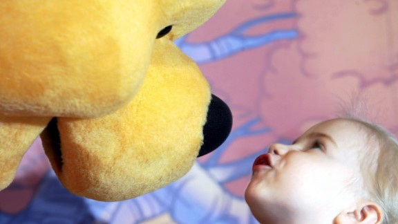 Since he was first created in the mid-1920s, the bear has become a popular children's character around the world.
