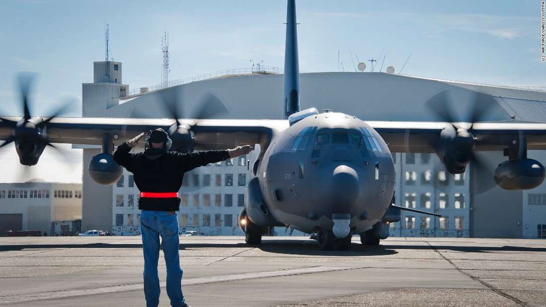 Air Force loses $115 million gunship to a 'sideslip