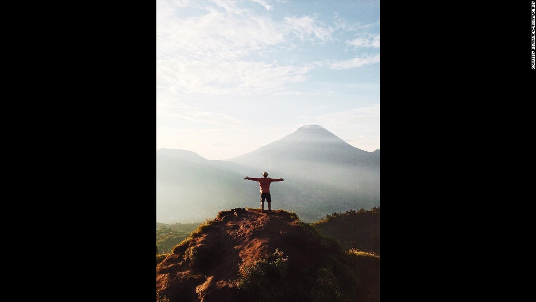 "Indonesian photographers <a href=""https://www.instagram.com/kevinanda/"" target=""_blank"">Kevin Anda</a> and  <a href=""https://www.instagram.com/skinnymonkey/"" target=""_blank"">Renaldi Ahmad</a> didn't have to look far for world-changing inspiration. Indonesia's 17,508 islands are a <a href=""http://edition.cnn.com/2015/11/16/travel/best-of-indonesia/index.html"" target=""_blank"">photographer's paradise</a>.  Anda experienced this moment at Dieng Plateau, near Wonosobo, Central Java:<br /><br />""I took this picture when I traveled together with several friends that I met from Instagram. We decided to go there during fasting month to challenge ourselves. It was a lovely experience indeed and the place itself was magical."""