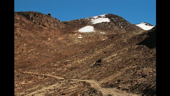 Today, few attempt the ski run down Bolivia
