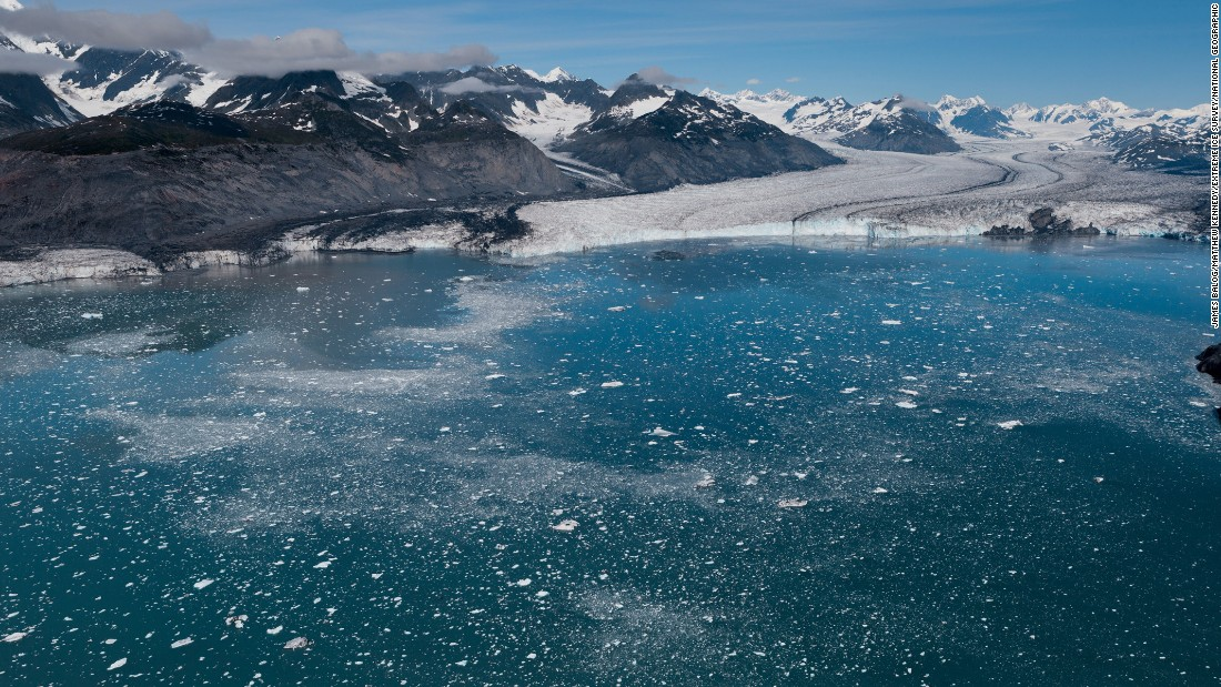 Columbia Glacier in 2012.