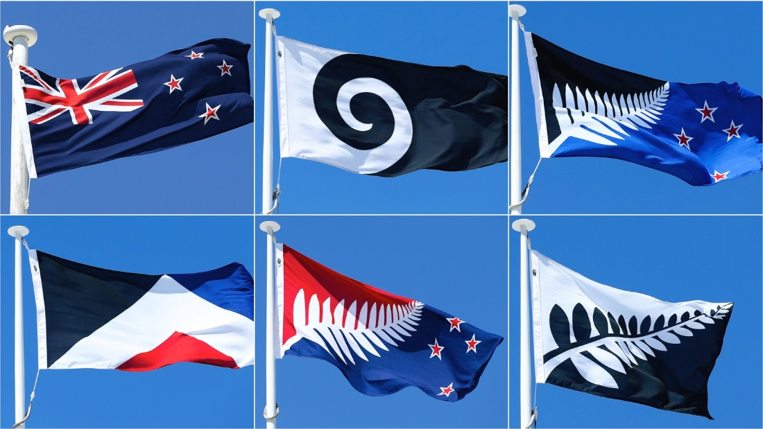 Voting Starts For New Zealands Flag CNN - New zealand flags