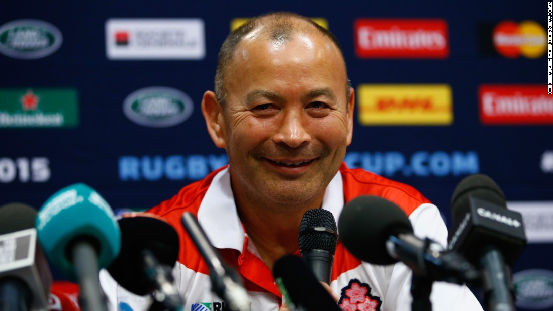Australian Eddie Jones, who previously coached  in Japan, made headlines when took over the England job in November. He is the first non-Englishman to take the post.