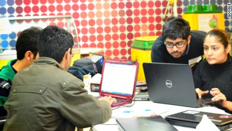 Students get to work at India's nanodegree launch
