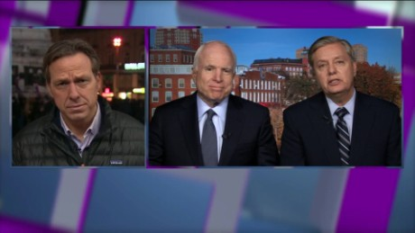 senators mccain, graham on ISIS war lead live_00052716