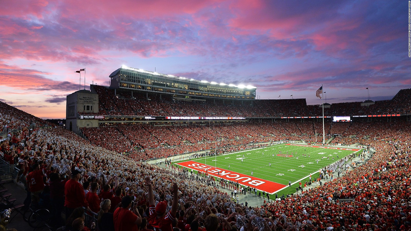 Focusing On Security At Ohio States Football Stadium