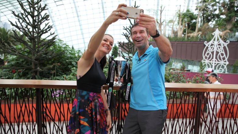 Aga Radwanska: Polish star revels in Singapore success