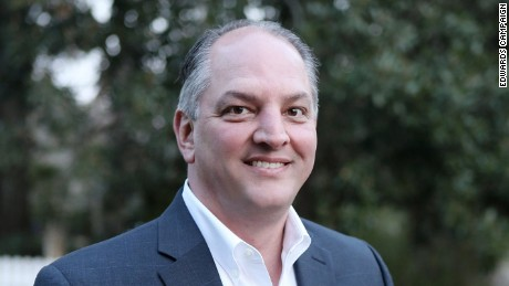 John Bel Edwards (D-Louisiana), candidate for Louisiana governor in 2015. Official portrait obtained from Edwards campaign office.
