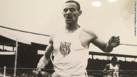 Mal Whitfield competes in 1948 Olympics