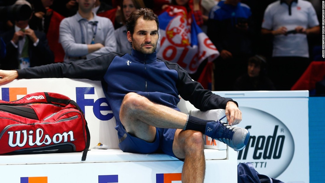 A dejected Federer reflects on his straight set defeat in the final to the world number one.