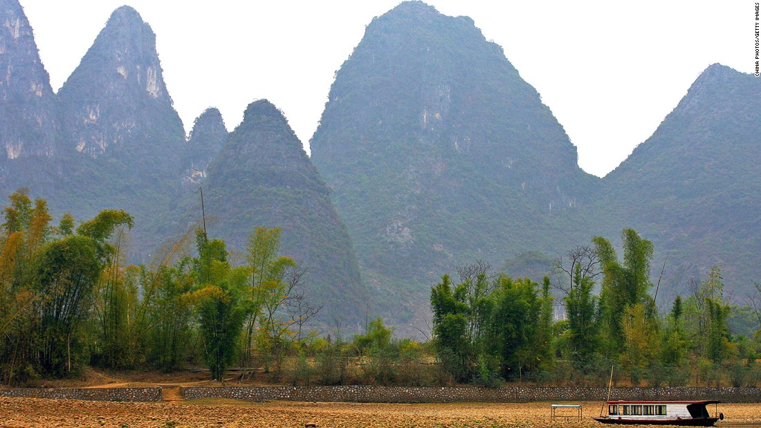 "<strong>Kashyyyk (Guilin, China): </strong>Thailand and southern China might be warm for a hairy Wookiee, but that didn't stop them being used as doubles for Chewbacca's home planet of Kashyyyk in ""Revenge of the Sith."""
