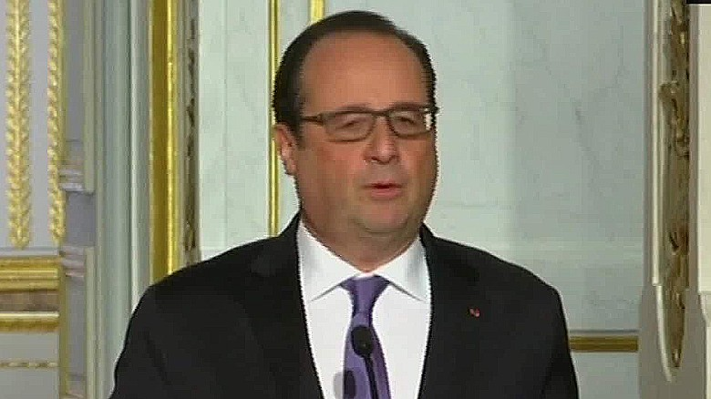 Hollande's effort to build an anti-ISIS grand coalition