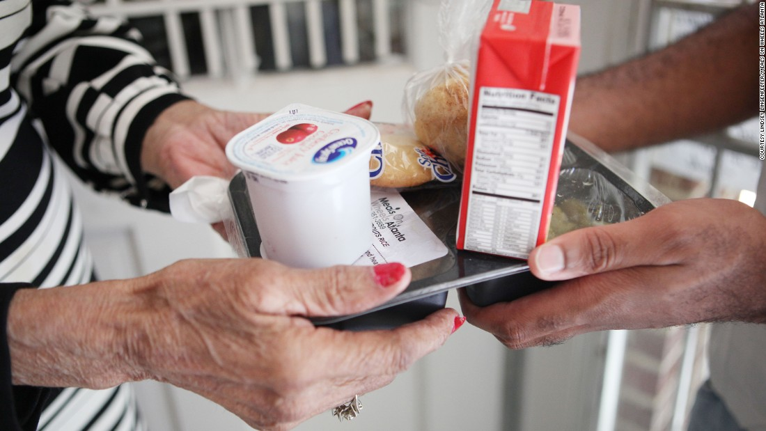"A few dollars can feed a hungry senior citizen. Though the Meals on Wheels network feeds 2.5 million homebound seniors annually, donating to<a href=""https://scsatl27452.thankyou4caring.org/sslpage.aspx?pid=298"" target=""_blank""> the local Meals on Wheels Atlanta office</a> can help get some of the 365 seniors off the waiting list."