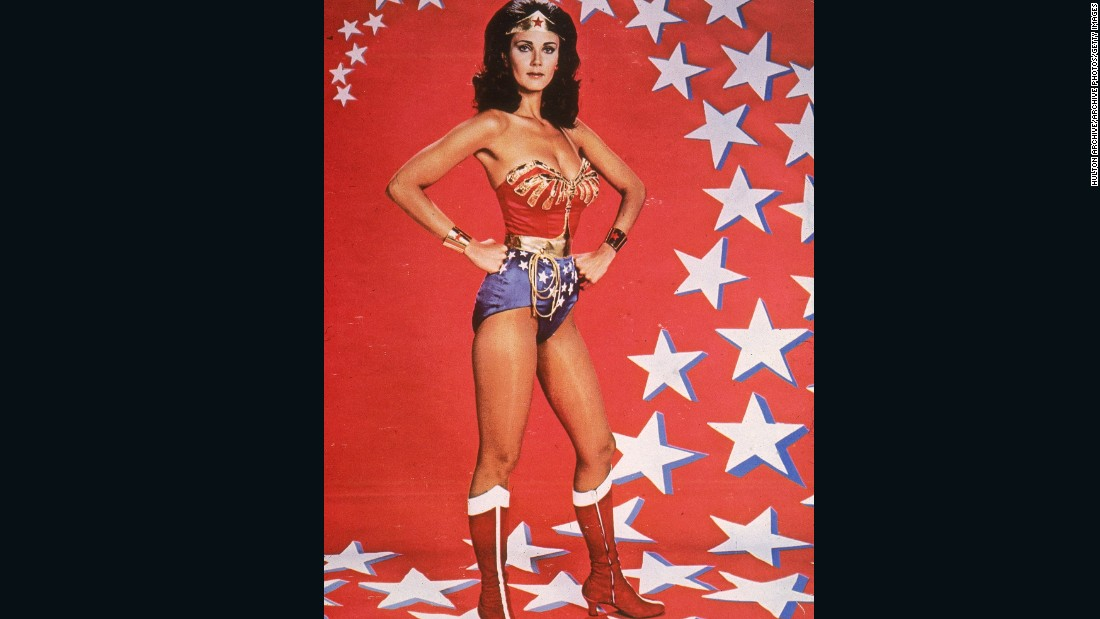 "How have female heroines in popular culture, such as ""Wonder Woman ,&quot"