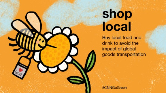 International shipping and transport contributes to around 25% of the CO2 emissions of most developed countries. The ingredients of local food and drinks are easier to trace too, while you can feel good about supporting local producers.
