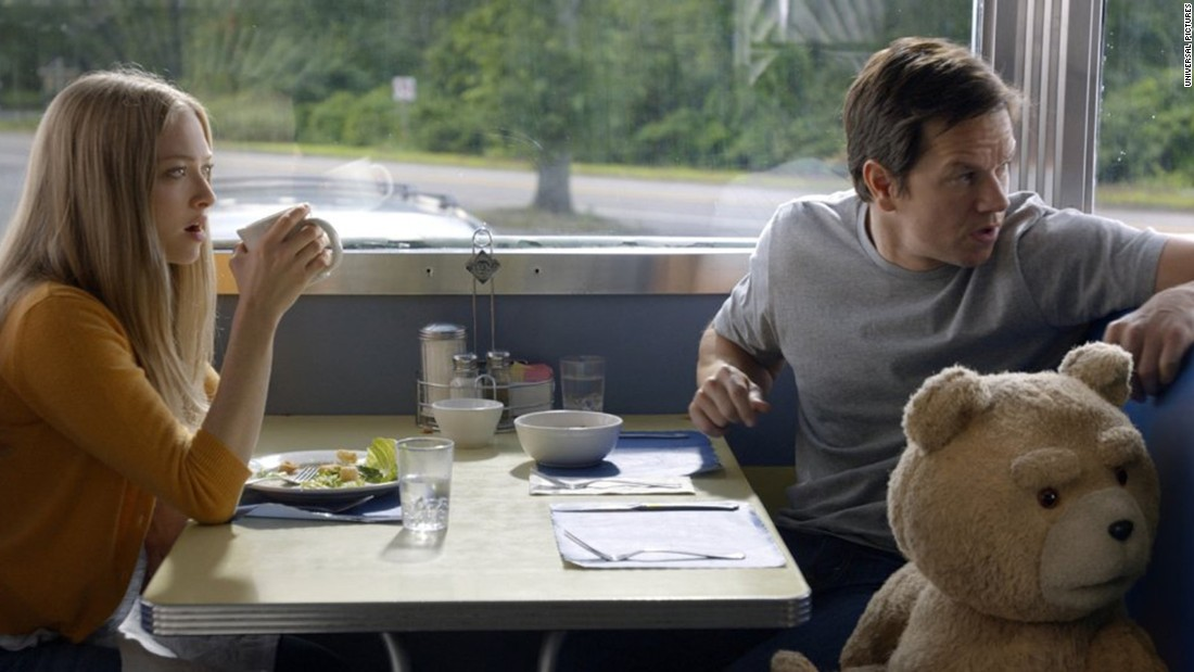 "<strong>""Ted 2""</strong>: The profane bear returns to get himself declared a person by the courts so that he and his wife can become parents. Amanda Seyfried and Mark Wahlberg co-star. <strong>(iTunes) </strong>"