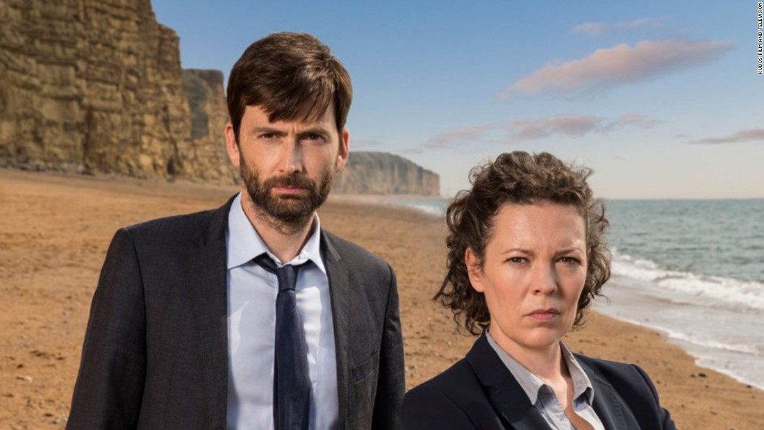 "<strong>""Broadchurch"" season 2</strong>: Detectives Alec Hardy and Ellie Miller (David Tennant and Olivia Colman) are assigned to the mysterious case of a young boy's murder. <strong>(Netflix) </strong>"