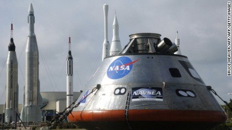 The NASA spacecraft Orion is designed to allow astronauts to journey to asteroids and Mars.