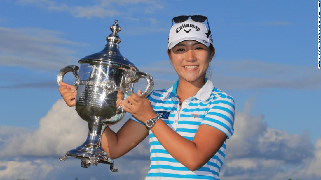 She was unsurprisingly crowned 2015 Rolex Player of the Year after a sensational season in which she  captured five Tour victories and took home over $2.8M in prize money.