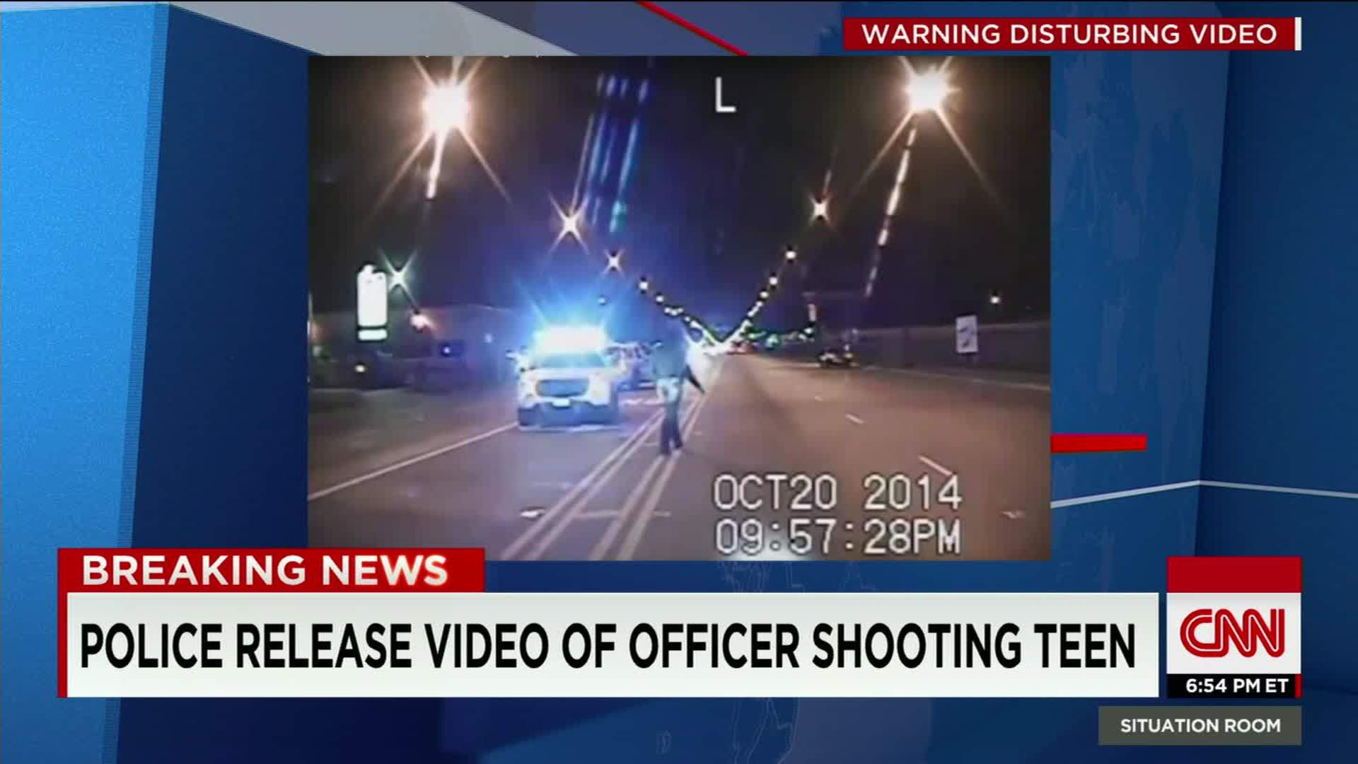 Video shows cop shoot teen - CNN Video