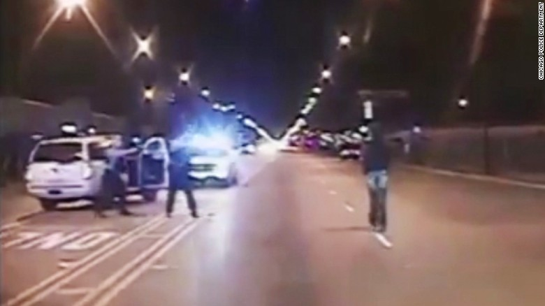 Protests after Laquan McDonald shooting video released