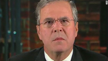 jeb bush on donald trump 9-11 remarks newday _00001701