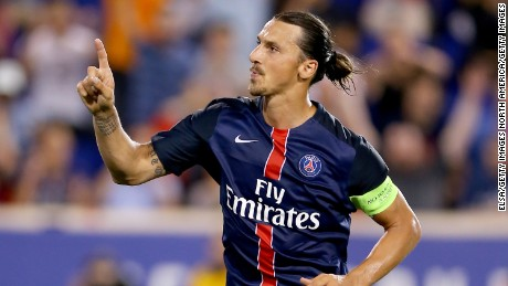 Zlatan Ibrahimovic will be the man to watch when PSG plays Chelsea.