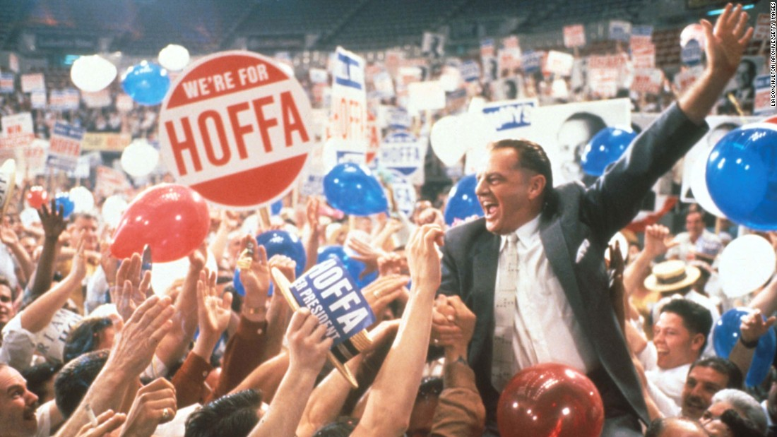"<strong>""Hoffa"":</strong> Jack Nicholson plays labor leader Jimmy Hoffa. <strong>(Amazon Prime)</strong>"