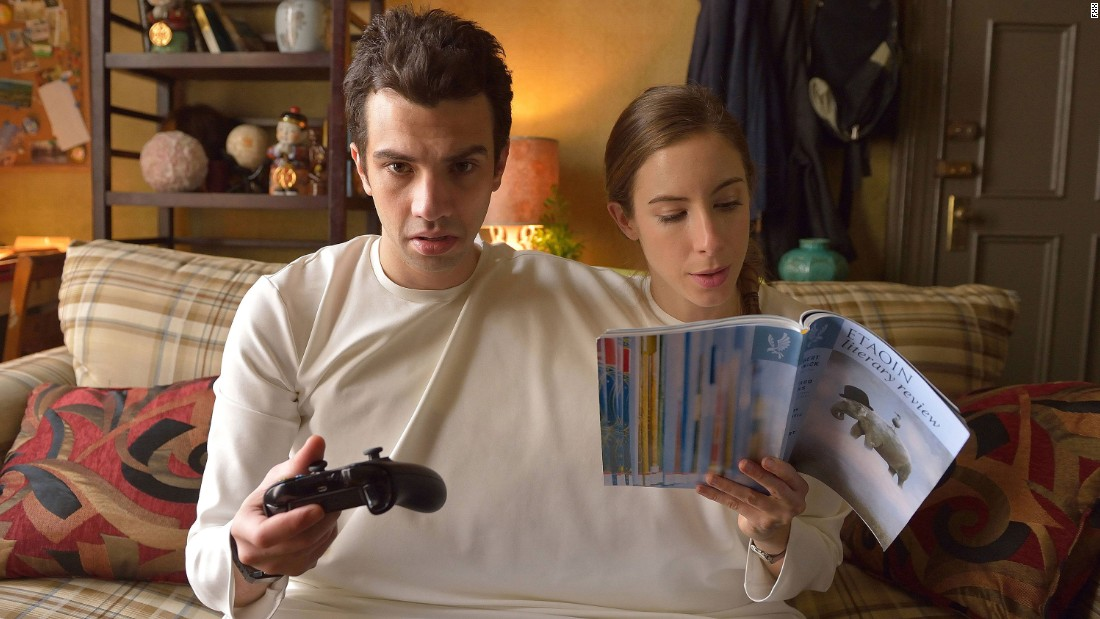 "<strong>""Man Seeking Woman"" season 1</strong>: Jay Baruchel stars as Josh and Claire Stollery as Rachel in a sitcom about an awkward guy trying to navigate love and relationships. <strong>(Hulu) </strong>"