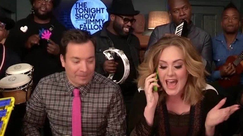 Adele Fallon classroom instruments Daily Hit NewDay_00002501