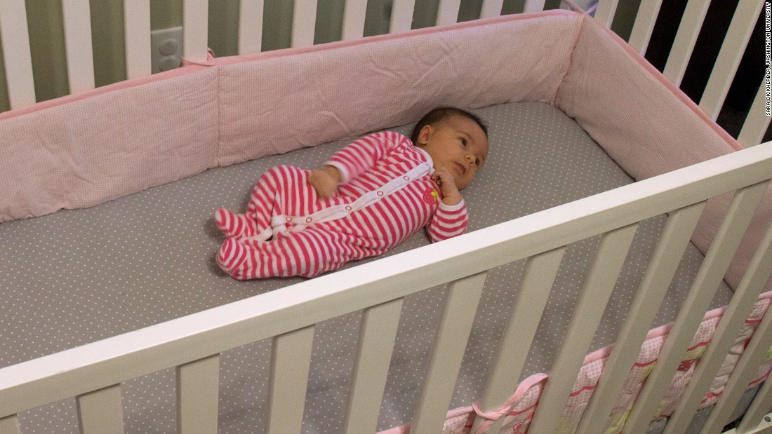 "The American Academy of Pediatrics Safe to Sleep Campaign suggests that <a href=""http://www.cnn.com/2015/12/01/health/crib-bumper-deaths-rise/"">no soft bedding -- including bumpers -- be used in cribs</a>. <br />They pose a risk of suffocation, strangulation or entrapment. Mattresses should be very firm, and no toys or pillows should be used. Cribs with drop rails also should not be used. The American Academy of Pediatrics offers more guidance on how to choose a safe crib.<br />"