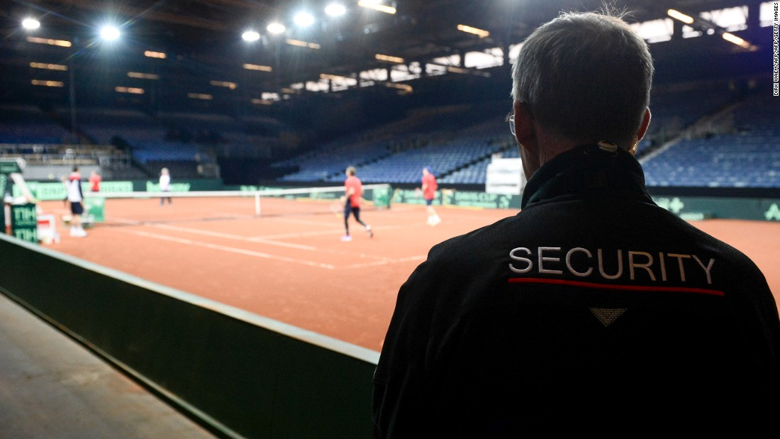 Police in Ghent say extra security measures will be in place when Belgium hosts Great Britain this weekend in the Davis Cup final.