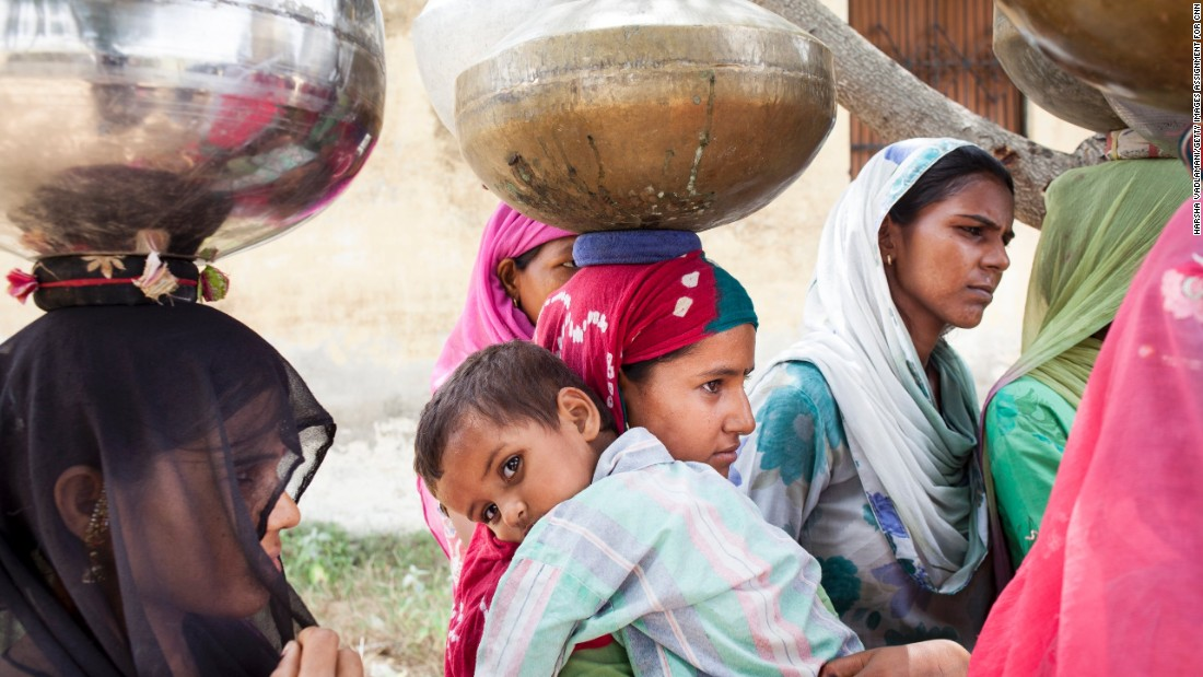 """Growing up, every morning I accompanied my mother to fetch water—a daily ritual,"" Agrawal said. No longer having to spend hours trekking miles to fetch water each day now enables women to become more economically productive."