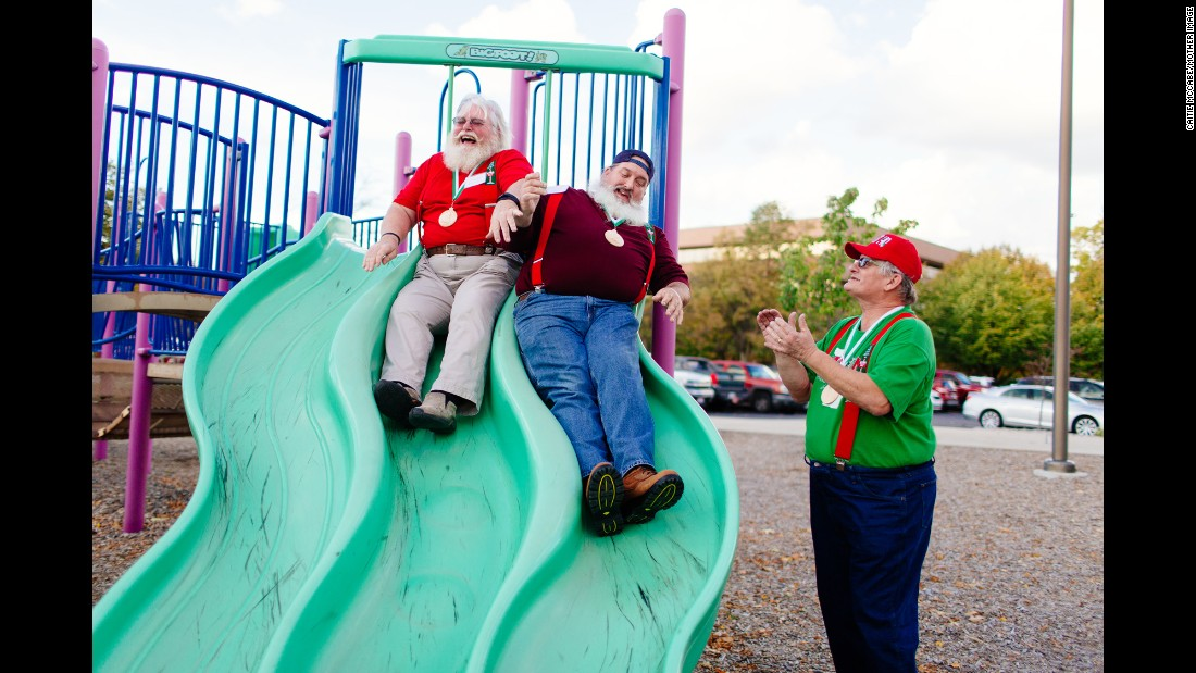 There's also time built in for the Santas to bond. It's one of the main reasons alumni return year after year; they say they learn from each other as much as they learn from the experts.