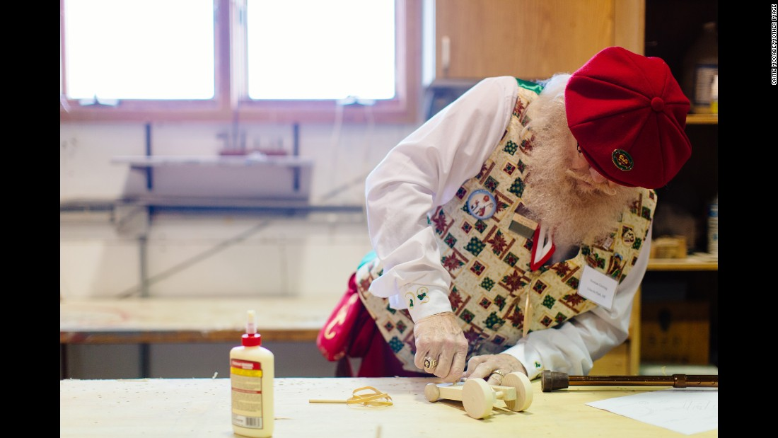 """The Charles W. Howard Santa Claus School has never really been about being the No. 1 Santa in the world,"" Holly Valent says. ""We try to teach every Santa to make every visit the very best for the child."""