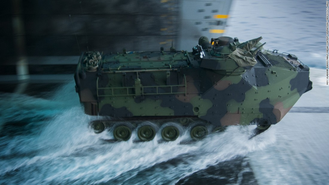 Amphibious Assault Vehicles