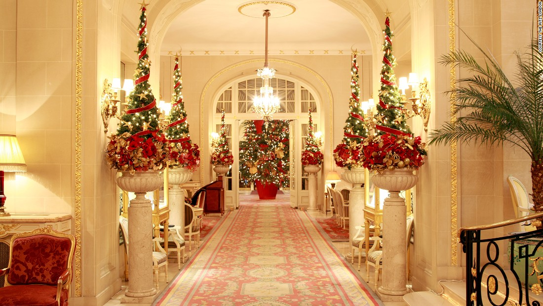 hotels at christmas 15 that go all out for the holidays cnn travel - London Christmas Decorations