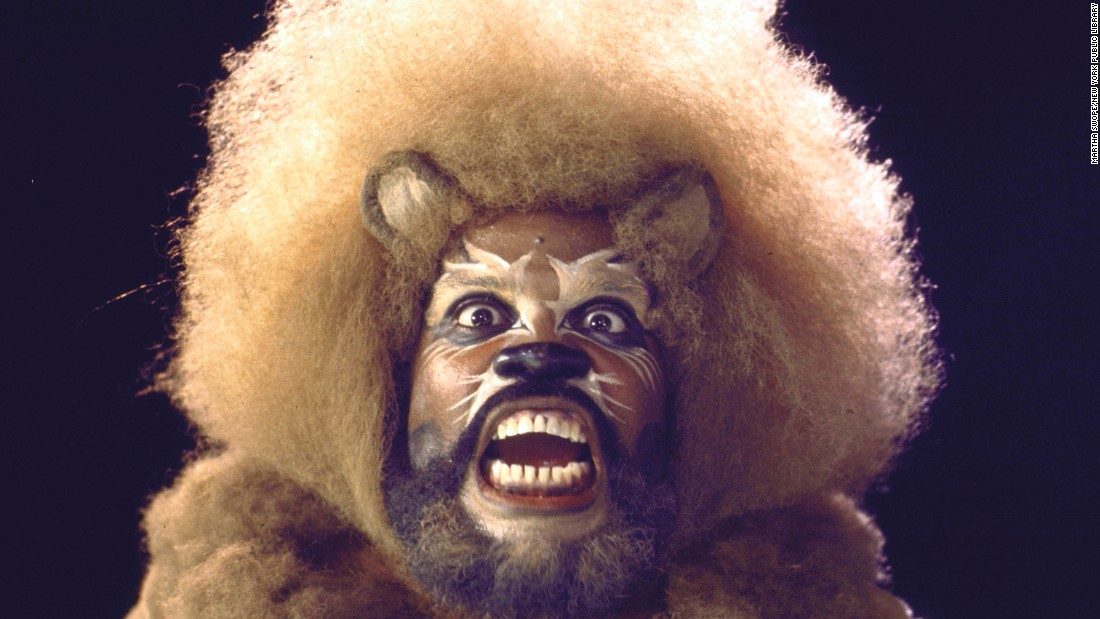 Ted Ross played the Lion in the musical.