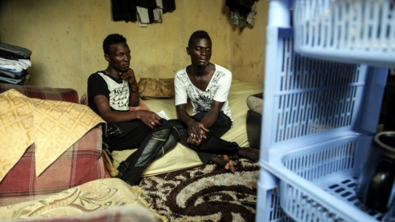 """Jackson Mukasa and Kim Mukisa were put on trial for engaging in sex acts """"against the order of nature."""""""