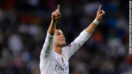 Cristiano Ronaldo scored twice in Real Madrid's 4-3 win over Shakhtar Donetsk on Wednesday.