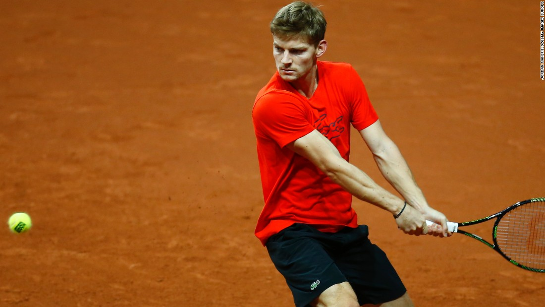 Belgium is led by world No. 16 David Goffin, who had a breakthrough 2014 -- winning two titles. He has reached another two ATP finals this year.