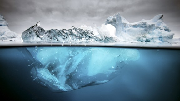 March 17: An iceberg in Antarctica, one of the most remote places on Earth.