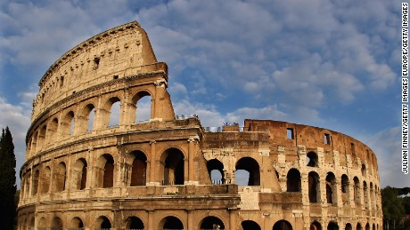 ROME, ROME - APRIL 25:  The Colosseum is seen on April 25, 2010 in Rome, Italy.  (Photo by Julian Finney/Getty Images)