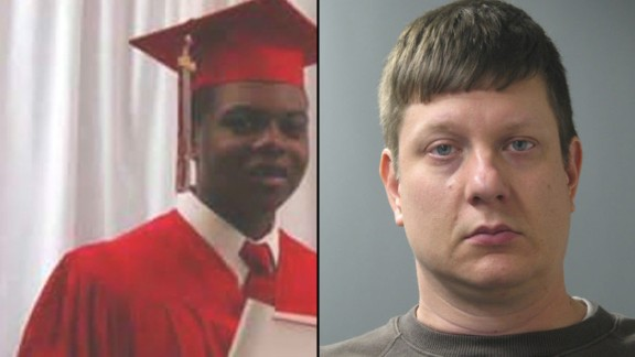 Officer Jason Van Dyke, right, has been charged in Laquan McDonald