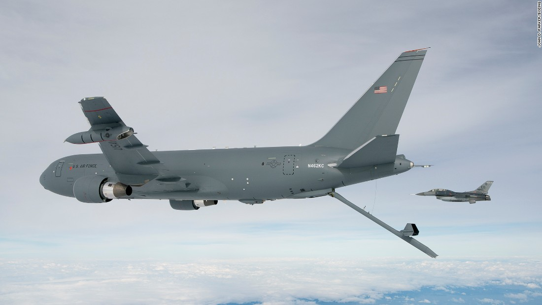 Air Force says Boeing has 'severe situation' after trash found on refueling planes