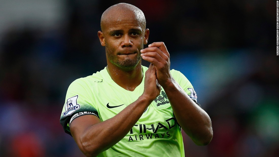 Kompany has twice won the English Premier League with Manchester City and is set to play for Belgium at Euro 2016 in France.