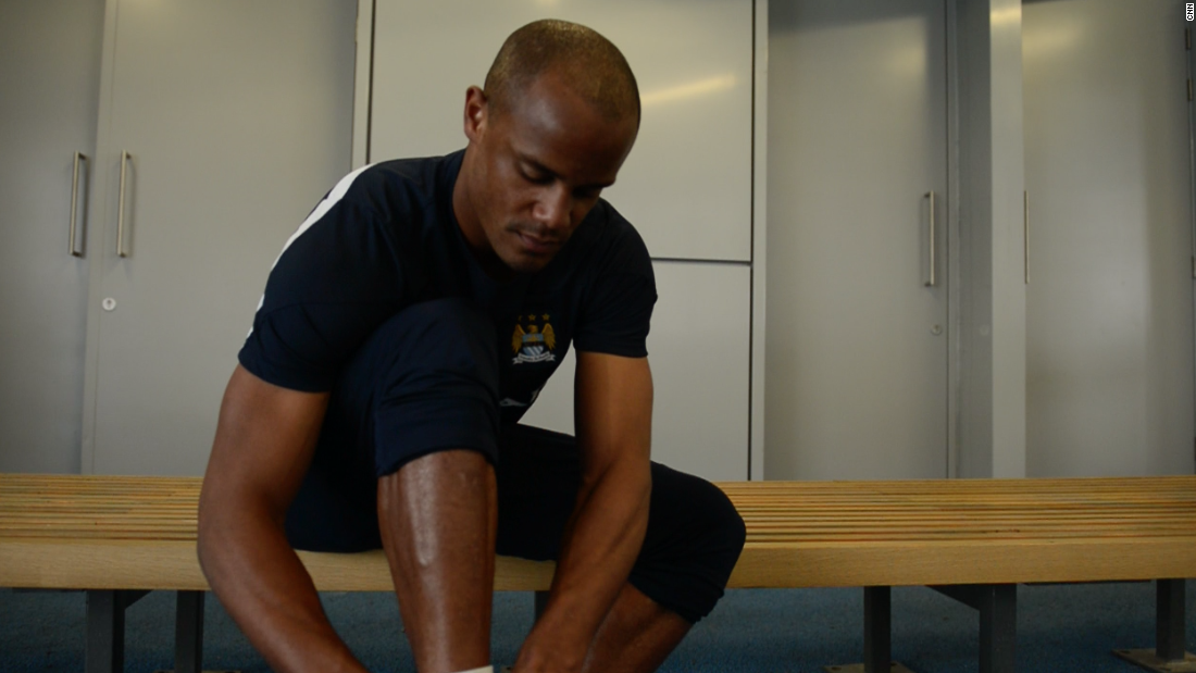 Kompany says he did not sleep for three nights after the attacks in the French capital.